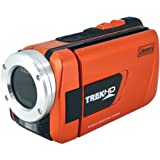 Coleman Trek CVW16HD-O 1080p Full HD Digital Waterproof Video Camera with 1x Optical Zoom with 3.0-Inch LCD Screen (Orange)