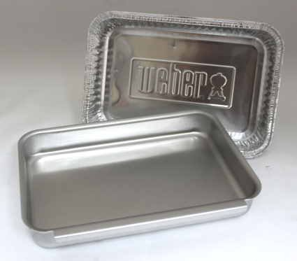 Grill E320 Gas Lp - Weber #93305 Aluminum Catch Pan Kit