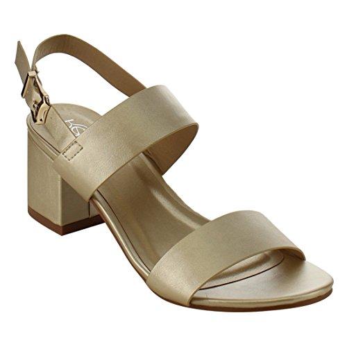 Leather Back Strap Sandal - 5