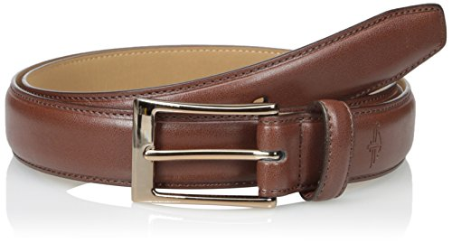 Dockers Men's 1 3/16 Inch Feather Edge Belt with Stich, Tan, 32 (Brown Feather Edge)