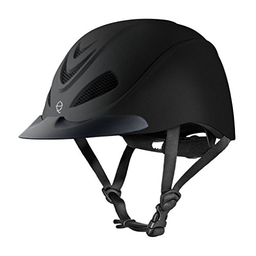 Troxel Liberty Black Duratec Low Profile Adjustable Medium Horse Riding Helmet (Helmet Spirit Schooling Troxel)