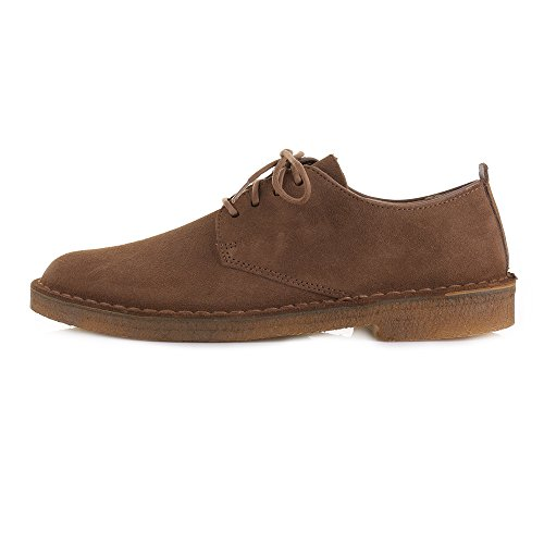 Cola de la marque Clarks Desert London Chaussures en daim à lacets classiqu