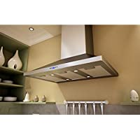 Zephyr ZVEE36CS Pyramid Wall Hood, Stainless Steel
