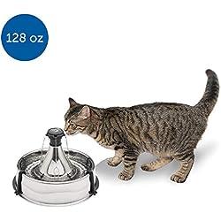 PetSafe Fuente para Mascotas Drinkwell 360, Estándar, Rojo, 8 LB