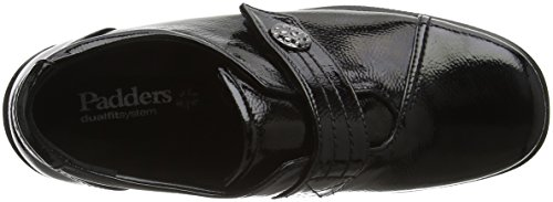 Padders Simone 60 Black Loafers Patent Black Damen rSw8r
