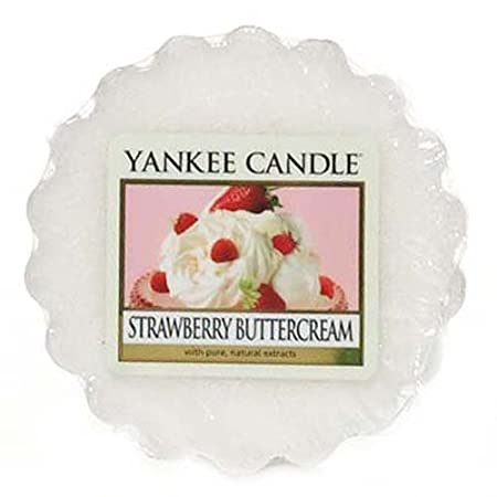 Yankee Candle 1173533E Scent Tartlet Cream Strawberry