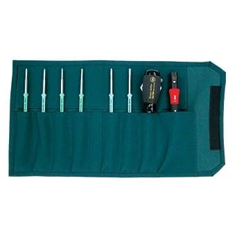 Wiha 28598 TorqueControl Set with TORX Plus Blades in Pouch, 8 Piece