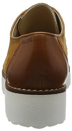 Marc Shoes Romy - Zapatos de cordones derby Mujer Beige - Beige (camel 340)