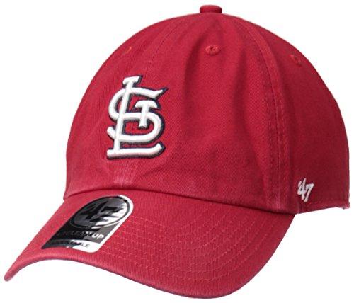 mlb-47-brand-clean-up-adjustable-cap-st-louis-cardinals