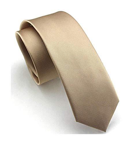 Men's Champagne Slik Ties HANDMADE Luxury Suit Formal Wedding Necktie for Groom