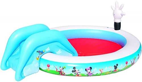 Color Baby Bestway - Piscina de Juegos interactiva con tobogán ...