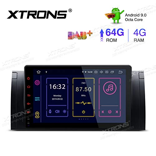 XTRONS 9 Inch Android 9.0 Car Stereo Radio Player Octa