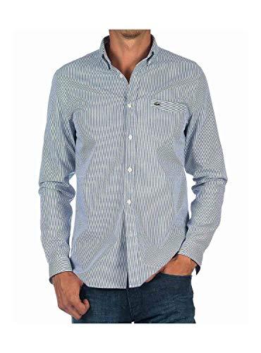 Shirt Men Blue Bleu Ch1227 Lacoste For SUwOddnq