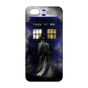 Cool-benz Doctor Who police box 3D Phone Case for iPhone 5s