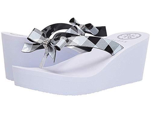 Sandals Guess Metallic (GUESS Women's Siarra Black 2 8 M US)