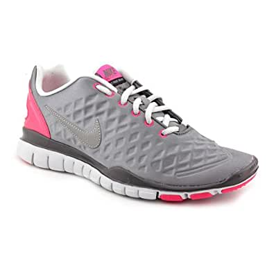 Nike Free TR Fit Winter Womens Training Shoes Cool Grey/Reflective Silver-Pro Platiunum-Cherry 469767-002-9.5