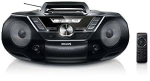Philips AZ3856 - Unidad de CD (8 W, MP3, WMA, FM,) (importado)