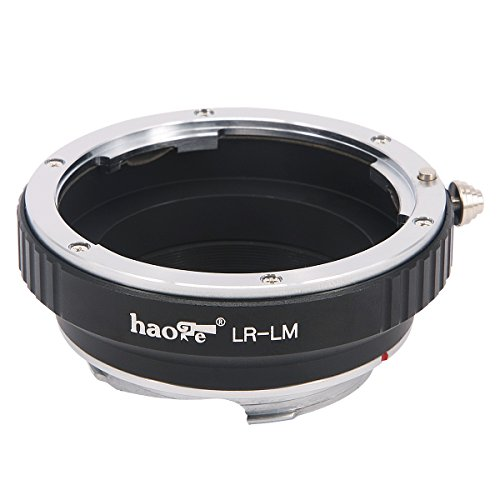 Haoge Lens Mount Adapter for Leica R LR Mount Lens to Leica M LM Mount Camera Such as M240, M240P, M262, M3, M2, M1, M4, M5, M6, MP, M7, M8, M9, M9-P, M Monochrom, M-E, M, M-P, M10, M-A