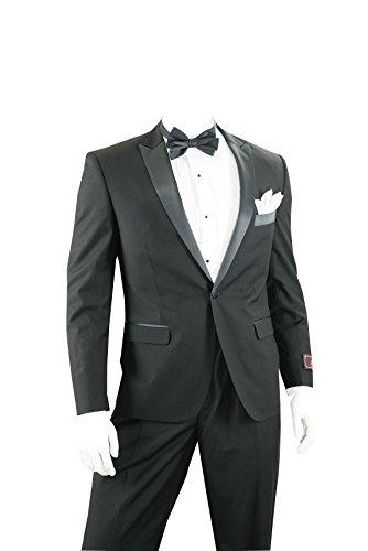Slim Fit Tuxedo – Black, 38 Regular