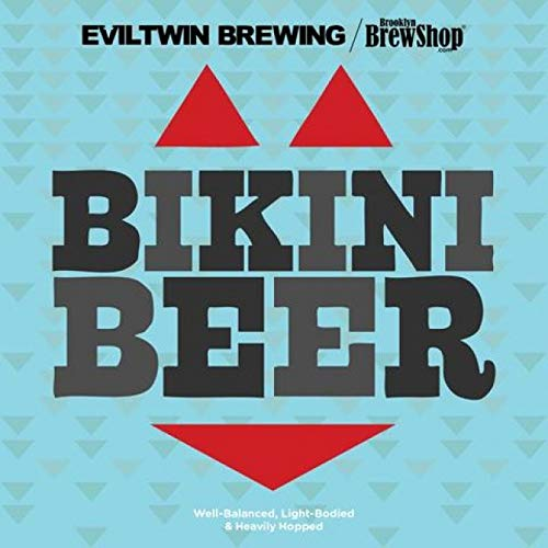 Brooklyn Brew Shop/Evil Twin Bikini Beer Making Mix: All-Grain Beer Making Mix Including Malted Barley, Hops, Yeast And Lactobacillus - Perfect For Brewing Craft Beer On Your Stove at Home