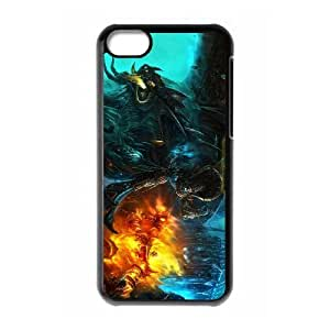 World of Warcraft iPhone 5c Cell Phone Case Black jthh