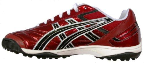 Asics , Chaussures pour homme spécial foot en salle Rouge Bordeaux