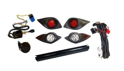 (3G Yamaha G29 YDR Drive Golf Cart 2007'-up DELUXE LIGHT KIT with LED Taillights)