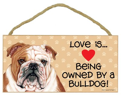 SJT ENTERPRISES, INC. Love is Being Owned by a Bulldog 5