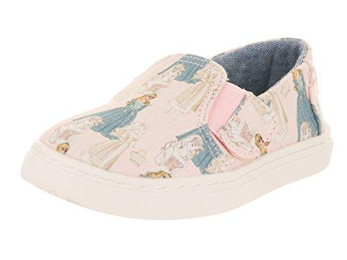 TOMS Kids Baby Girl's Luca Disney¿ Princesses (Infant/Toddler/Little Kid) Pink Sleeping Beauty Printed Canvas 2 M US Infant M