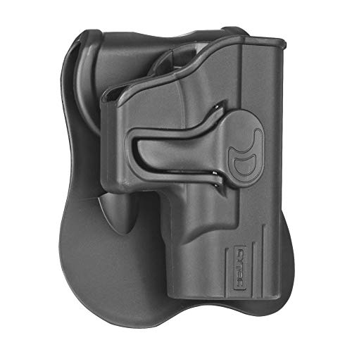 Springfield Armory XDs Holster OWB, Outside The Waistband Carry Paddle Holster Fit Springfield Armory XD-S 3.3