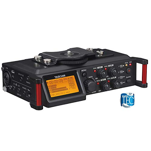 Portable Video Mixer - Tascam DR-70D 4-Channel Portable Recorder
