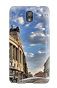 Valerie Lyn Miller Fashion Protective Madrid City Case Cover For Galaxy Note 3