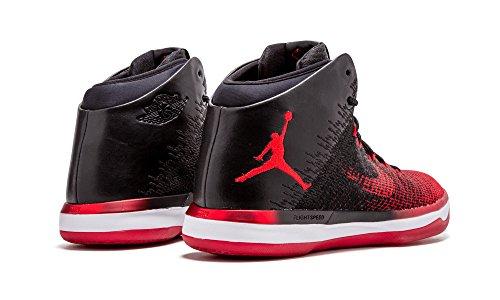 Nike Mens Air Jordan Xxxi Scarpe Da Basket Nero / Università Rosso / Bianco