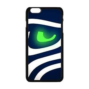 Hard Plastic Case NFL Seattle Seahawks Apple iPhone 6 Plus 5.5 Kimberly Kurzendoerfer
