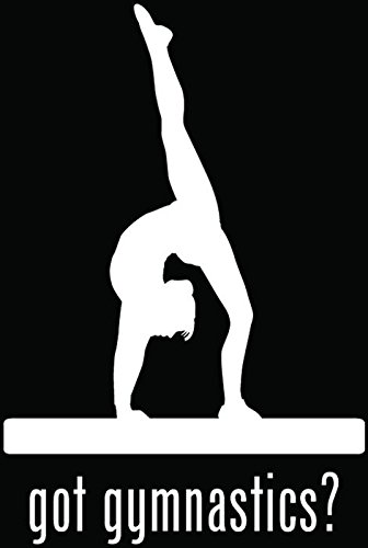 gymnastics car decal - 2