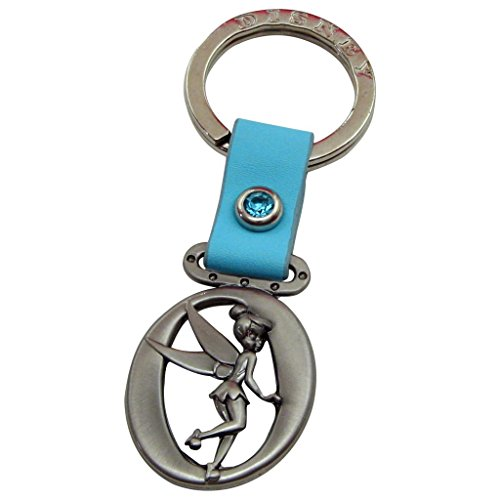 (Tinker Bell Letter O Pewter Key Chain)