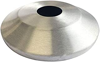 "product image for Gettysburg Flag Works Standard Profile Satin Aluminum Flash Collar for 8"" Pole Diameter, 16"" Outside Diameter"