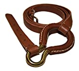 Polo Ralph Lauren Collection Womens Equestrian Leather Belt Brown Beige Medium