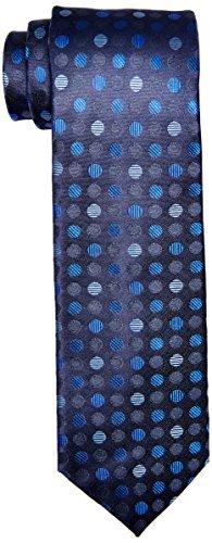 BUGATCHI Mens Oddo Tie, Midnight, One Size