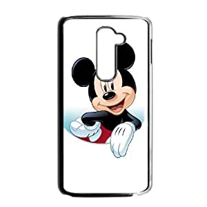 LG G2 Cell Phone Case Black Disney Mickey Mouse Minnie Mouse gift Q6538242