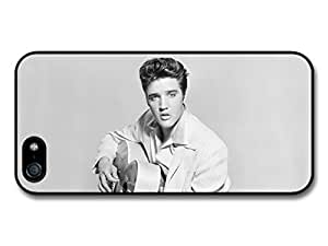 AMAF ? Accessories Elvis Presley Playing Guitat case for iPhone 5 5S