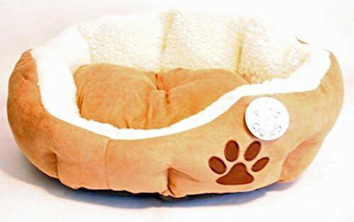AJ Tools CHIDT045-M Pet Bed, 21 x 17 x 7 , Red Dark Grey