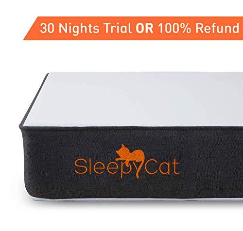 SleepyCat - Orthopedic Gel Memory Foam Mattress (72x36x6 inches)