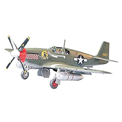 Tamiya Models P-51B Mustang Model Kit: Toys & Games