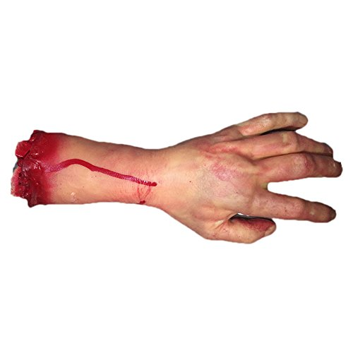 Smartcoco 1Pcs Broken Finger Hand Foot Scary Bloody Broken Body Parts April Fool's Day Tricky Party  - http://coolthings.us