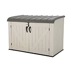 Lifetime Products Lifetime 60170 Horizontal Storage Box, Tan