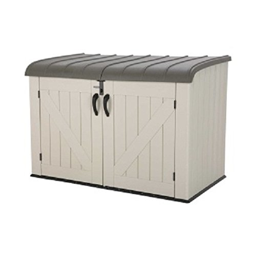 Lifetime Products 60170 Horizontal Storage Box, Tan