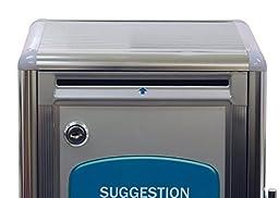 BUYaSafe G-B09 Aluminum Suggestion Box