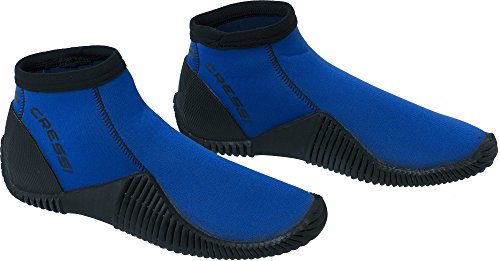 Cressi Low Boot Neopren Tauchschuhe Blau