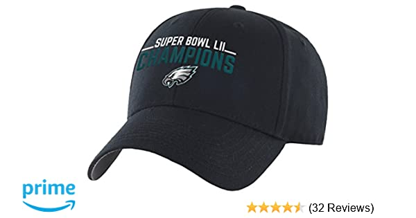 Amazon.com   OTS NFL Philadelphia Eagles Super Bowl SB52 Champions All-Star  Adjustable Hat eeeaf6c66